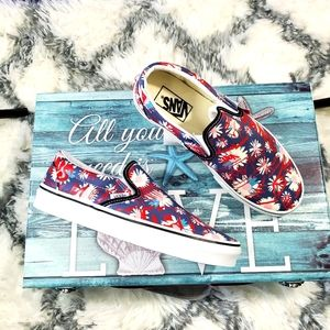 Vans Crew Floral 💐🌼 Classic Slip-on (CL)